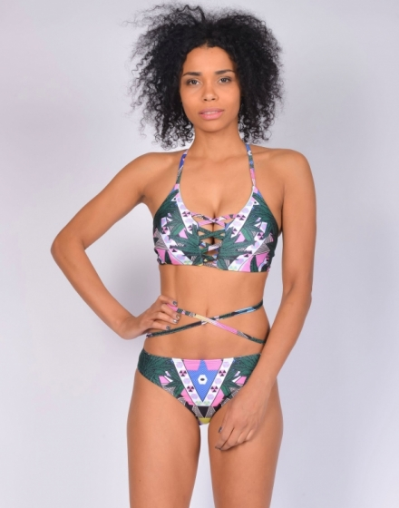 Купальник bikini  hemp abstraction