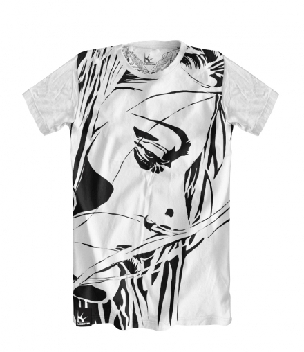 Футболка Abstract girl LIBERTEE