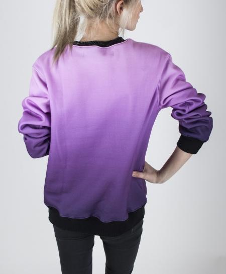 Толстовки, Толстовка Purple unicorn sexy sweaters kawaicat